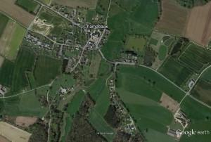 vue aérienne_Champeaux_bourg_GE2